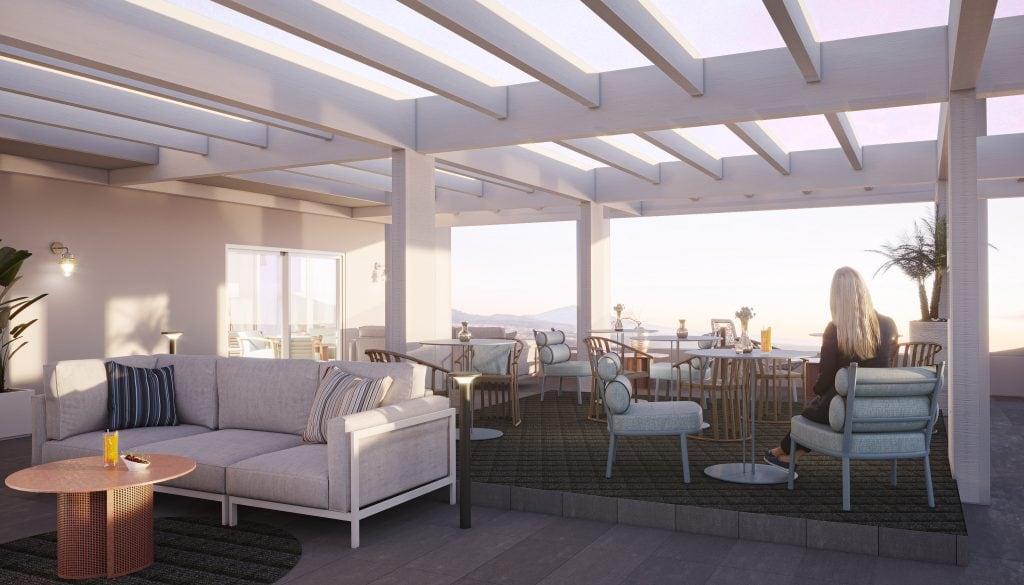 Rooftop Lounge OCEAN 11