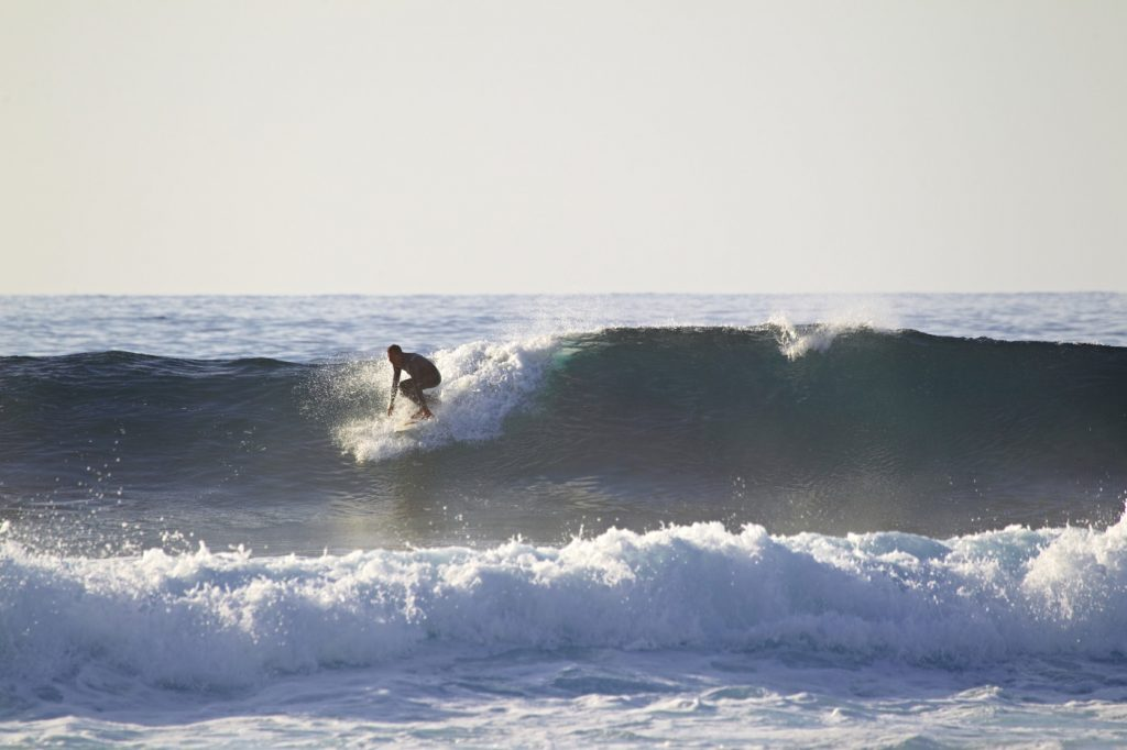 Hot spot for surfing and bodyboarding