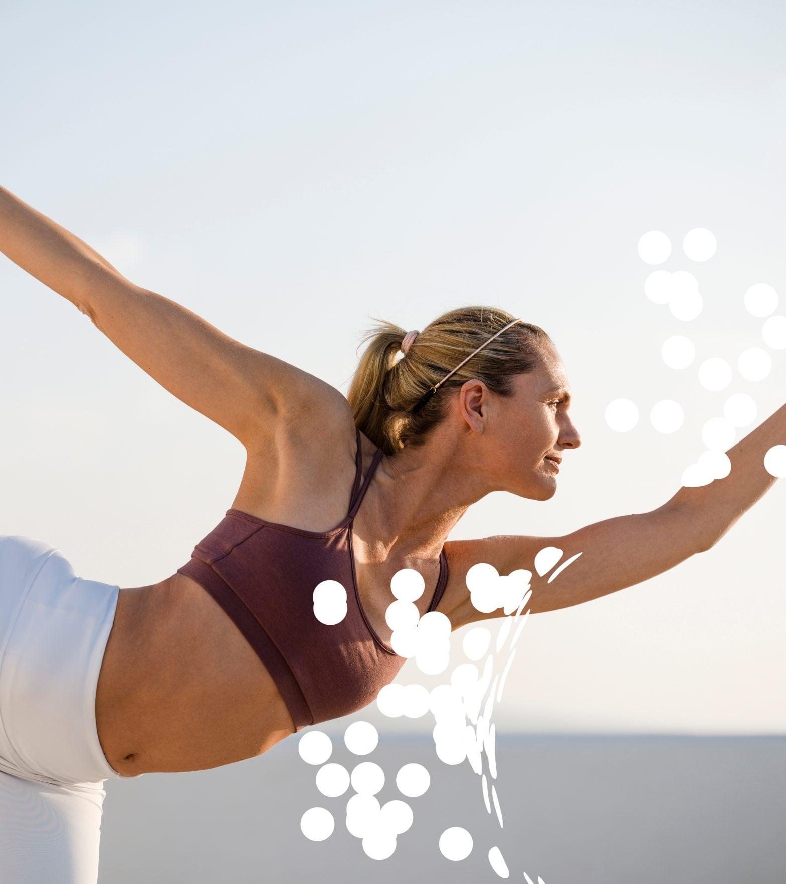 Yoga Scherenschnitt