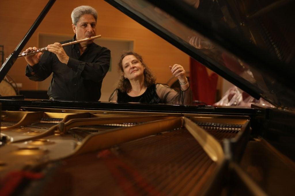 Christina Harnisch (Pianistin) & Romano Pucci (Flöte/Primo flauto della Scala di Milano)