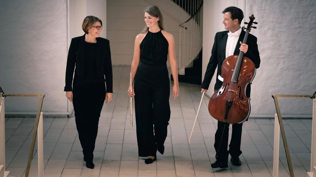 Schelberg Trio - Bernadette Schachschal (Flöte),  Lukas Helbig (Cello) & Tatiana Bergh (Klavier)