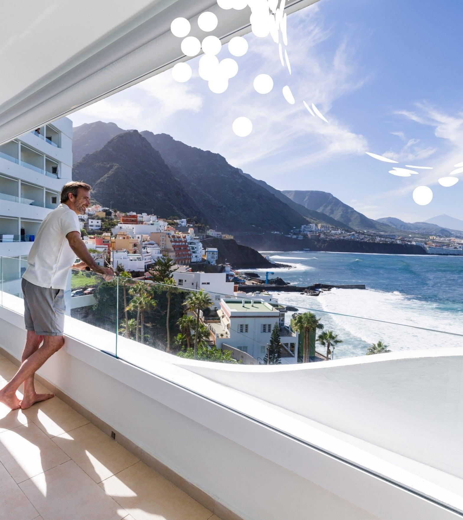 Zimmer Balkon Meerblick Senor Peter