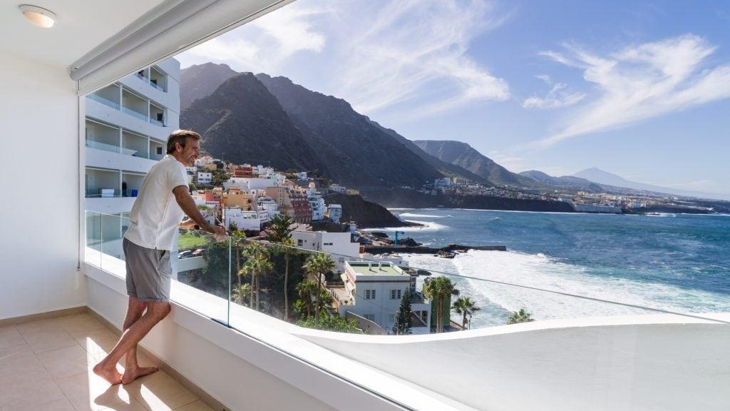 Todas las habitaciones con vista al mar